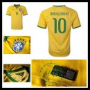 Camisetas Brasil (10 Ronaldinho) 2015-2016 I Masculina