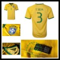 Camisa Futebol Brasil (3 T.Silva) 2015/2016 I Masculina
