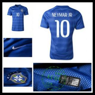 Uniforme Futebol Brasil (10 Neymar Jr) 2015/2016 Ii Masculina