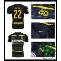 Camisa Borussia Dortmund Pulisic 2016-2017 Ii Masculina