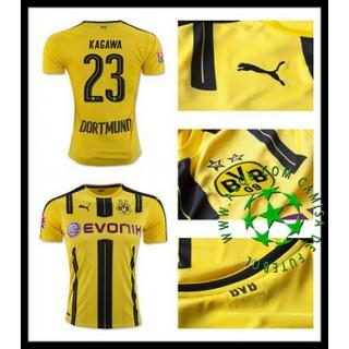 Camisas Du Futebol Borussia Dortmund Kagawa 2016-2017 I Masculina