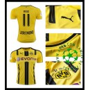 Uniforme De Futebol Borussia Dortmund Reus 2016/2017 I Masculina