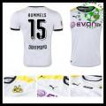 Camisa De Futebol Borussia Dortmund (15 Hummels) 2015-2016 Iii Masculina