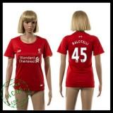 Liverpool Camisetas Balotelli 2015-2016 I Feminina