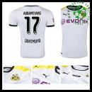 Camisa Futebol Borussia Dortmund (17 Aubameyang) 2015 2016 Iii Masculina