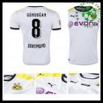 Camisa Futebol Borussia Dortmund (8 Gundogan) 2015-2016 Iii Masculina