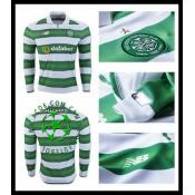 Criação Uniforme Futebol Manga Longa Fc Celtic Masculina 2016-2017 I Loja On-Line