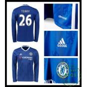 Todo Camisas Du Futebol Manga Longa Terry Chelsea Fc Masculina 2016 2017 I Loja On-Line