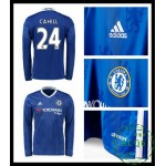 Compra Camisa Futebol Manga Longa Cahill Chelsea Fc Masculina 2016-2017 I Loja On-Line