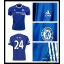 Jogo Camisa De Futebol Cahill Chelsea Fc Masculina 2016 2017 I On-Line