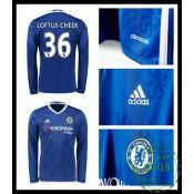 Compra De Camisa De Futebol Manga Longa Loftus Cheek Chelsea Fc Masculina 2016/2017 I On-Line