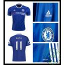 Comprou Camisas De Futebol Pato Chelsea Fc Masculina 2016/2017 I Loja On-Line