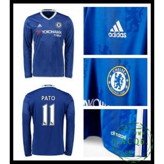 Criar Camisa De Futebol Manga Longa Pato Chelsea Fc Masculina 2016 2017 I Loja On-Line