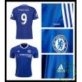 Falso Camisas Futebol Falcao Chelsea Fc Masculina 2016 2017 I On-Line