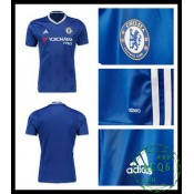 17760b5672 Jogo Camisa Du Futebol Chelsea Fc Masculina 2016 2017 I Loja On-Line