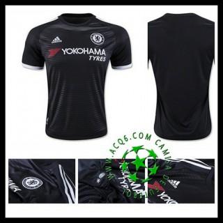 Camisa De Futebol Chelsea 2015/2016 Iii Masculina