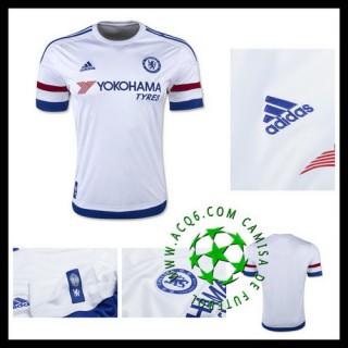 Camisas Du Futebol Chelsea 2015-2016 Ii Masculina