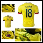 Camisas Du Futebol Colômbia (18 C.Zuniga) 2015/2016 I Masculina