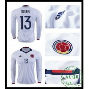 A Partir De Venda Camisas De Futebol Manga Longa Guarin Colômbia Masculina 2016/2017 I Online Store