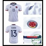 A Partir De Venda Camisas Futebol Guarin Colômbia Masculina 2016-2017 I Loja On-Line