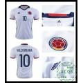 Compra Camisa De Futebol Valderrama Colômbia Masculina 2016-2017 I Loja On-Line