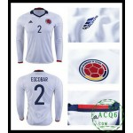 Equilíbrio Camisetas Manga Longa Escobar Colômbia Masculina 2016/2017 I On-Line