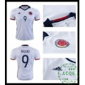 Velho Camisa Futebol Falcao Colômbia Masculina 2016 2017 I Online Store