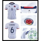 Criação Camisas Futebol C. Sanchez Colômbia Masculina 2016 2017 I On-Line
