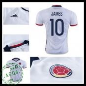 Camisa Futebol Colômbia James 2016 2017 I Masculina
