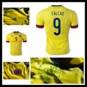 Camisas Colômbia (9 Falcao) 2015/2016 I Masculina