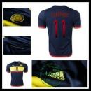 Camisas Futebol Colômbia (11 Cuadrado) 2015/2016 Ii Masculina