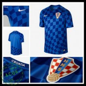 Camisa Futebol Croácia Euro 2016/2017 Ii Masculina
