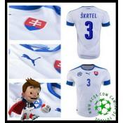 Desenho Camisa De Futebol Skrtel Eslováquia Masculina Euro 2016/2017 I Loja On-Line