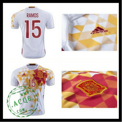 83f7ea3498 Camisas Futebol (15 Ramos) Espanha Autêntico Ii Euro 2016 Masculina ...