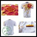 Camisas De Futebol Espanha Autêntico Ii Euro 2016 Masculina