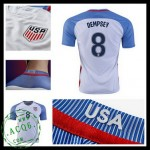 Camisa Futebol Eua Dempsey 2016 2017 I Masculina