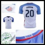 Camisas De Futebol Eua Cameron 2016-2017 I Masculina