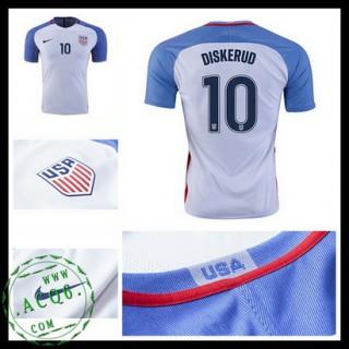 Camisas Futebol Eua Diskerud 2016-2017 I Masculina