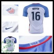 Camisa De Futebol Eua Nguyen 2016-2017 I Masculina
