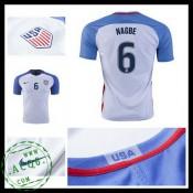 Camisas De Futebol Eua Nagbe 2016 2017 I Masculina
