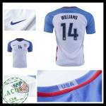 Camisa Futebol Eua Williams 2016/2017 I Masculina