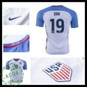 Camisas Du Futebol Eua Zusi 2016/2017 I Masculina