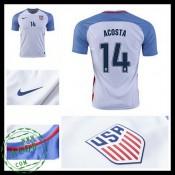 Camisas De Futebol Eua Acosta 2016 2017 I Masculina