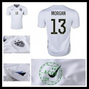 Camisa Futebol Estados Unidos (13 Morgan) 2015/2016 I Masculina