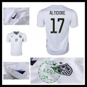 Camisas Futebol Estados Unidos (17 Altidore) 2015-2016 I Masculina