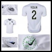 Camisetas Estados Unidos (2 Yedlin) 2015/2016 I Masculina