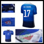 Uniforme Futebol Estados Unidos (17 Altidore) 2015 2016 Ii Masculina