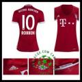 Tamanho Camisas Robben Bayern De Munique Feminina 2016/2017 I On-Line