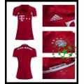 Camisas De Futebol Bayern Munich 2016/2017 I Feminina