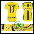 Compra Uniforme De Futebol Aubameyang Borussia Dortmund Feminina 2016-2017 I Loja On-Line